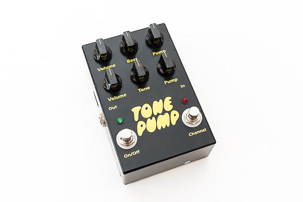 Barber Electronics Tone Pump Original V1 Overdrive Rare Guitar Effect ...