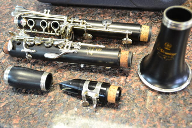yamaha advantage ycl 400ad grenadilla wood bb clarinet