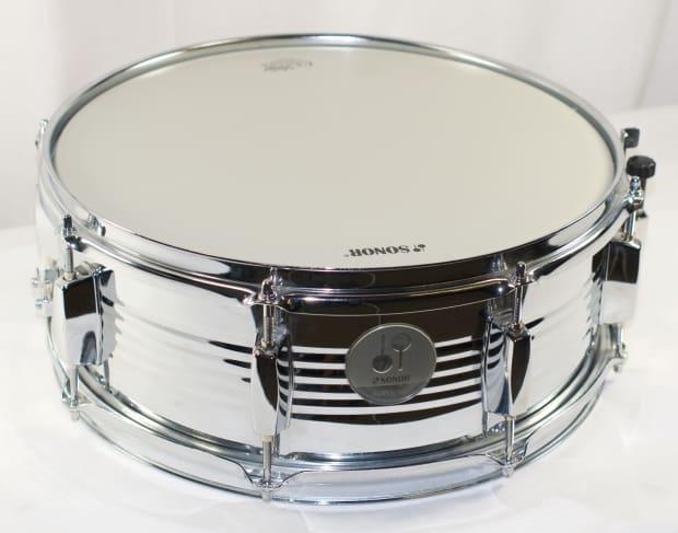 sonor force 505 metal snare drum new reverb. Black Bedroom Furniture Sets. Home Design Ideas