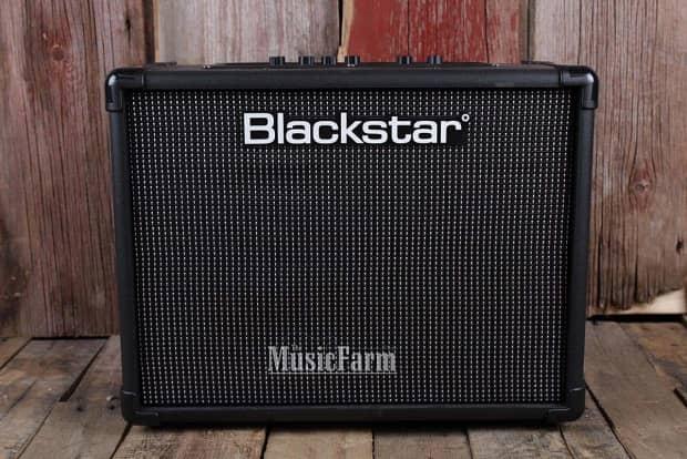 blackstar idcore 40 stereo electric guitar amplifier 2 x 20 reverb. Black Bedroom Furniture Sets. Home Design Ideas