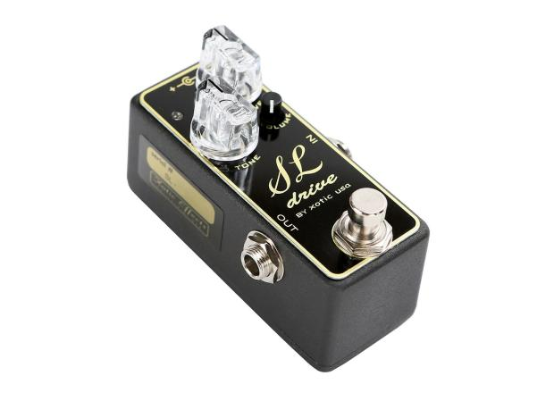 xotic sl drive overdrive guitar pedal effects demo perfect circuit reverb. Black Bedroom Furniture Sets. Home Design Ideas