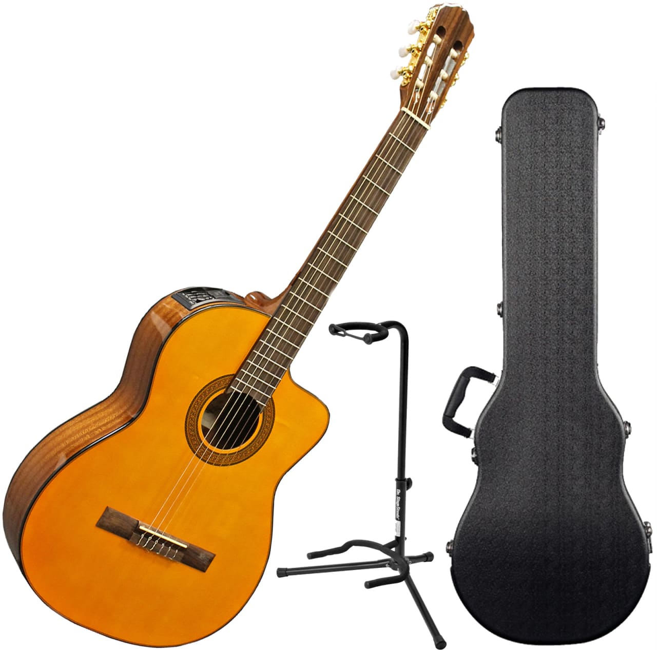 takamine eg124c g series cutaway acoustic electric classical reverb. Black Bedroom Furniture Sets. Home Design Ideas