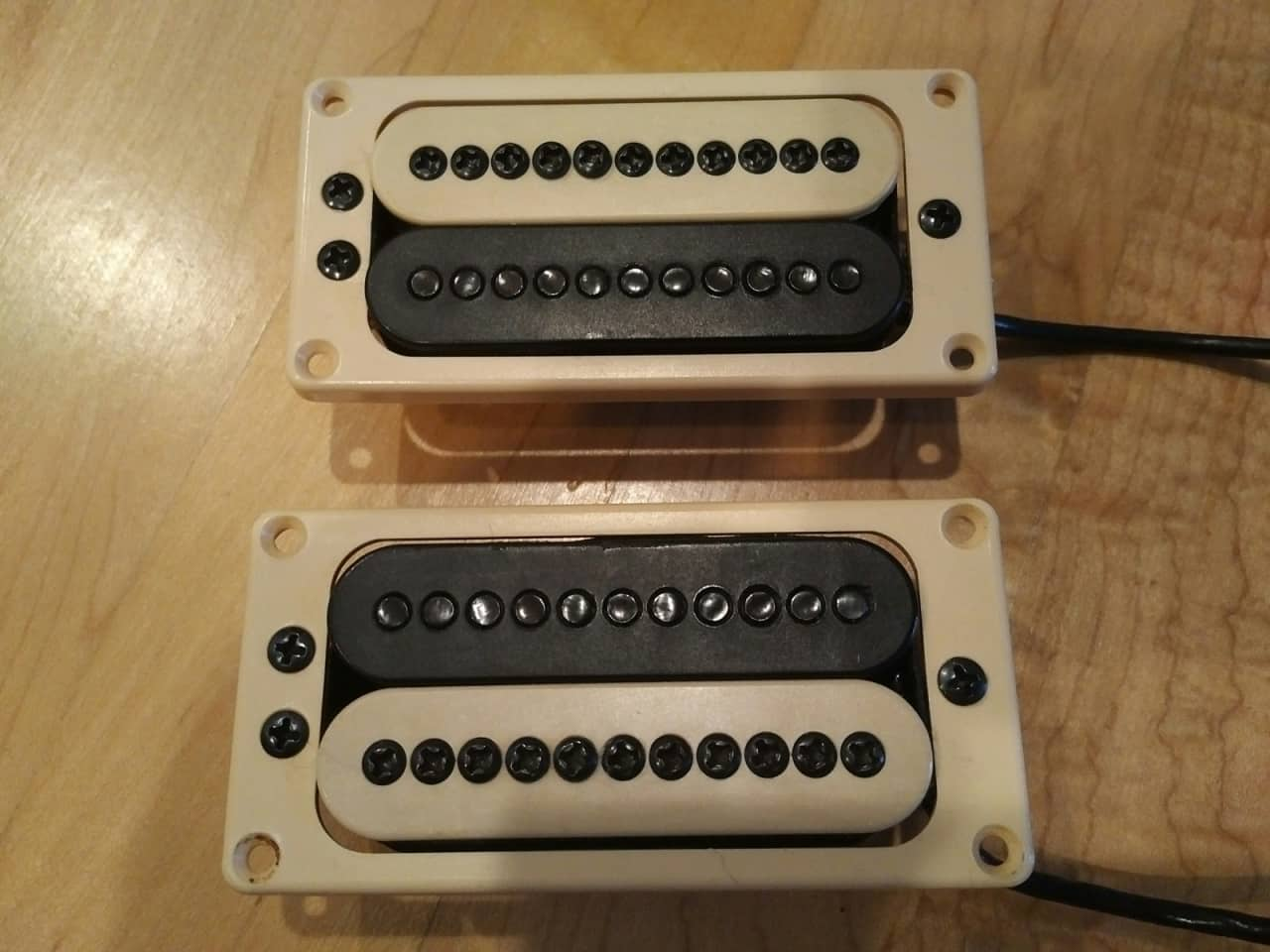 Carvin Dc400 Humbuckers  Pup Rings And Active  Passive