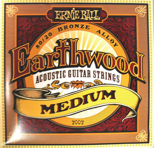 ernie ball earthwood medium gauge acoustic guitar strings 200 reverb. Black Bedroom Furniture Sets. Home Design Ideas