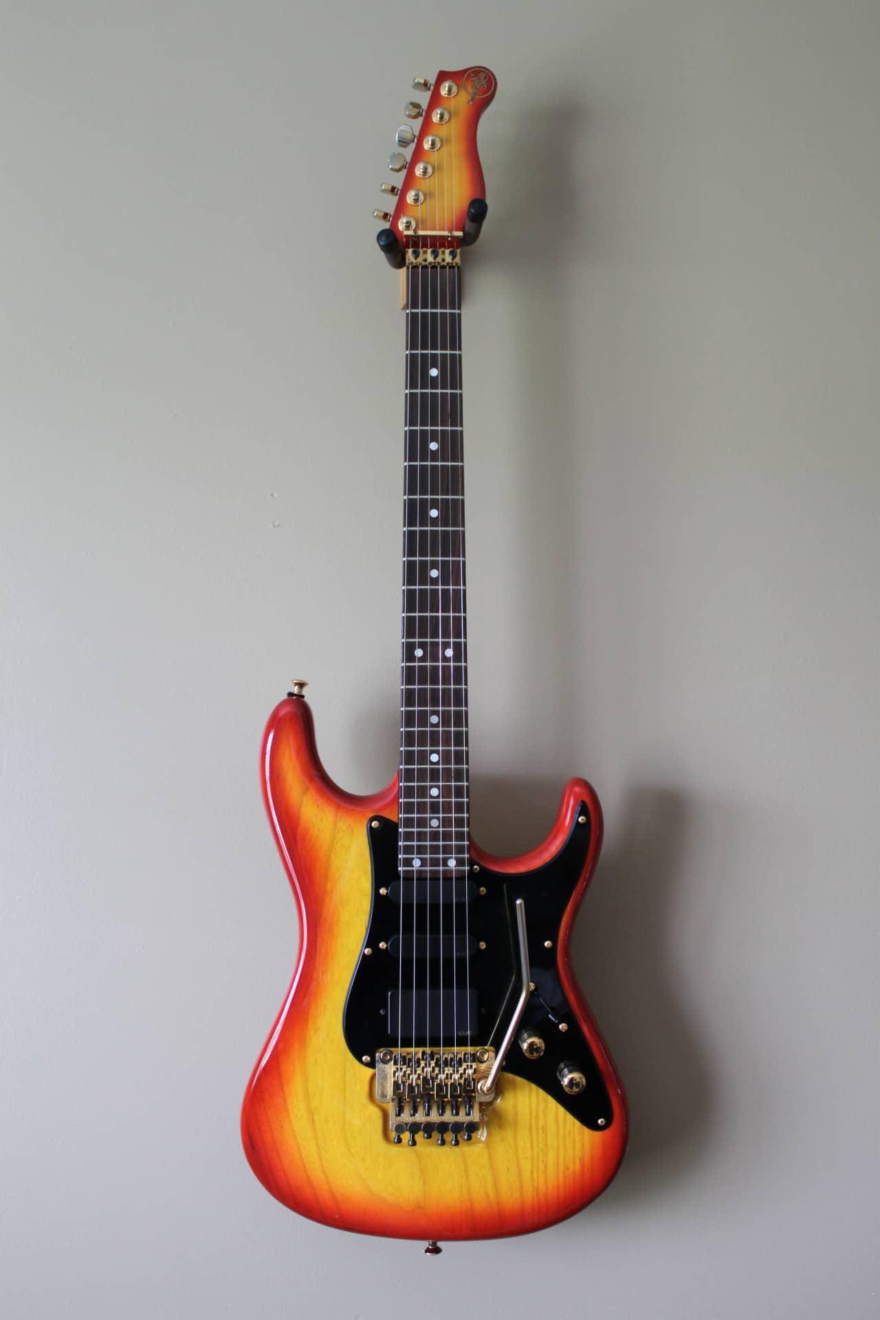 valley arts guitar custom pro 7 8s luke signature model 1990 reverb. Black Bedroom Furniture Sets. Home Design Ideas