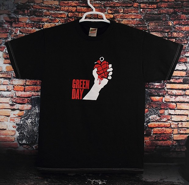 green day concert t shirt 2005 american idiot tour dates reverb. Black Bedroom Furniture Sets. Home Design Ideas