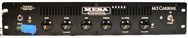 mesa boogie m3 carbine 300 watt 4 ohm tube bass guitar reverb. Black Bedroom Furniture Sets. Home Design Ideas