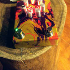 ZVex Fuzz Factory 7  Custom Shop Handpainted One Of A Kind! image