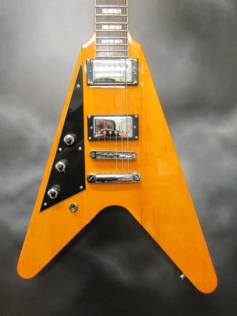 reverend volcano flying v left handed electric guitar reverb. Black Bedroom Furniture Sets. Home Design Ideas