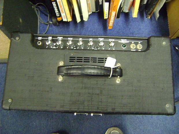 crate v series 30 watt tube guitar combo amp 1990s black reverb. Black Bedroom Furniture Sets. Home Design Ideas