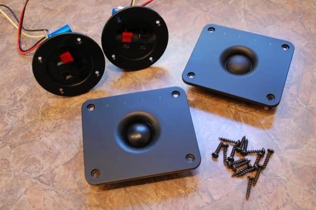 Boston Acoustics A60 Series Ii 2 Tweeters And Crossovers