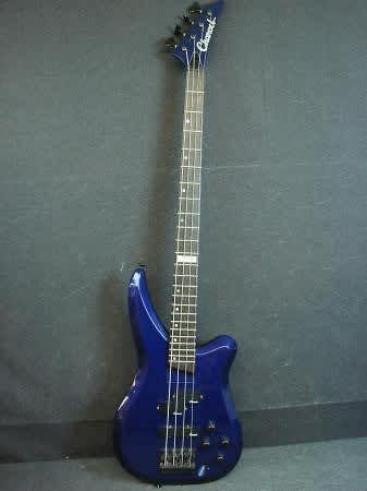 Charvel Fusion 4-String Bass Guitar w/Case Blue   Reverb