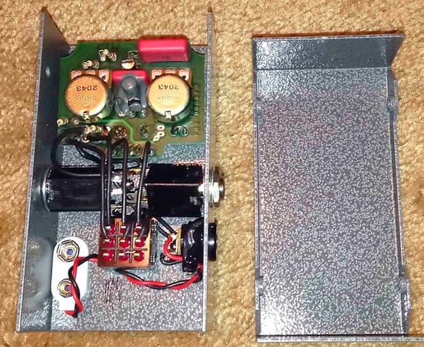 fulltone v1 fat boost fb 1 guitar effects pedal version 1 reverb. Black Bedroom Furniture Sets. Home Design Ideas