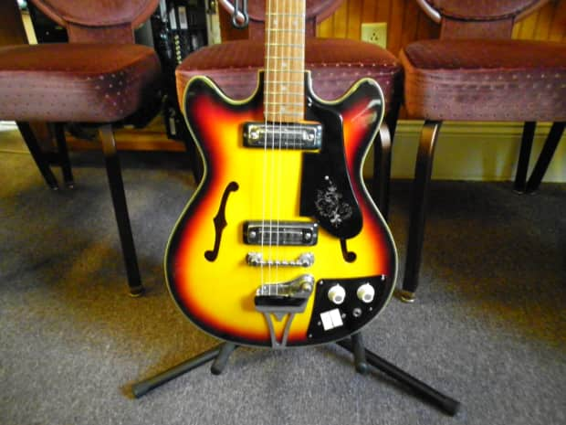 vintage teisco del ray electric guitar reverb. Black Bedroom Furniture Sets. Home Design Ideas
