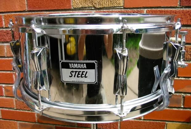 Yamaha stage custom snare chrome reverb for Yamaha stage custom steel snare drum 14x6 5