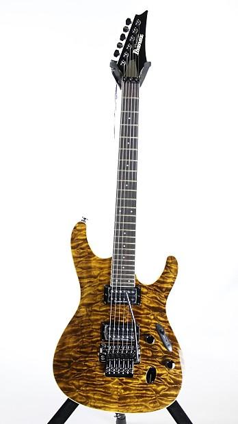 Ibanez S Prestige S5420QDUTGE Electric Guitar w/ Case Rare ...
