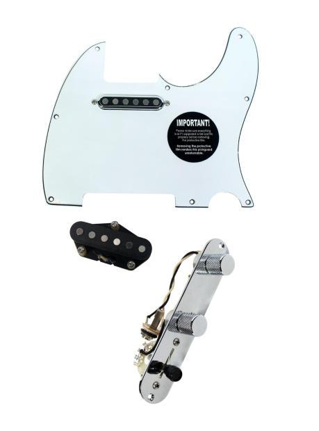 920d fender telecaster loaded pickguard tv jones tele pickups t4w wh reverb. Black Bedroom Furniture Sets. Home Design Ideas
