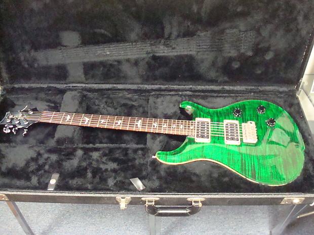 39 95 prs custom 24 10 top emerald green birds trem w ohsc reverb. Black Bedroom Furniture Sets. Home Design Ideas