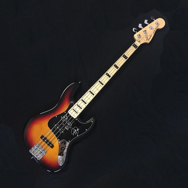fender geddy lee signature jazz bass 2012 3 color sunburst reverb. Black Bedroom Furniture Sets. Home Design Ideas