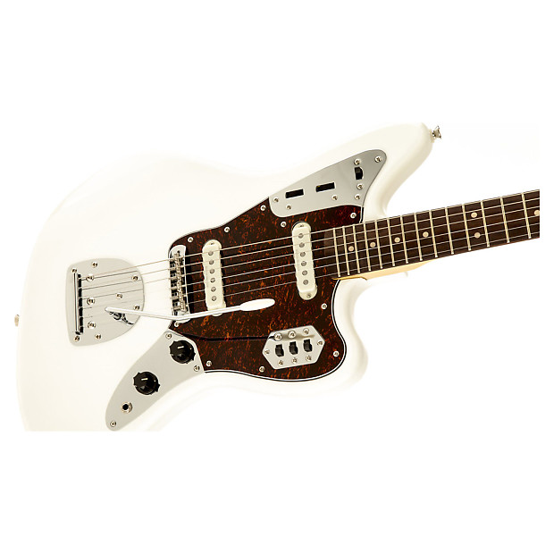 squier vintage modified jaguar electric guitar olympic white reverb. Cars Review. Best American Auto & Cars Review