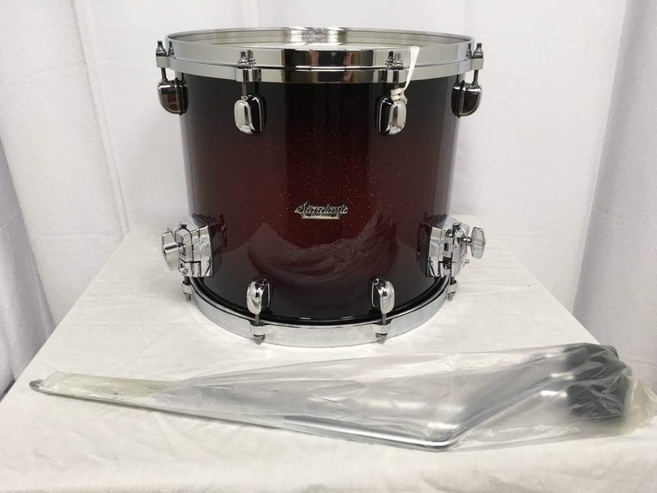 Tama starclassic maple 14 diameter x 12 deep floor tom for 16 x 12 floor tom
