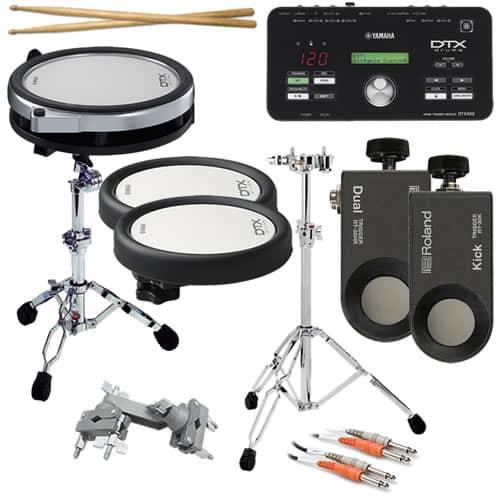 yamaha dtx502 electronic drum trigger module complete drum reverb. Black Bedroom Furniture Sets. Home Design Ideas