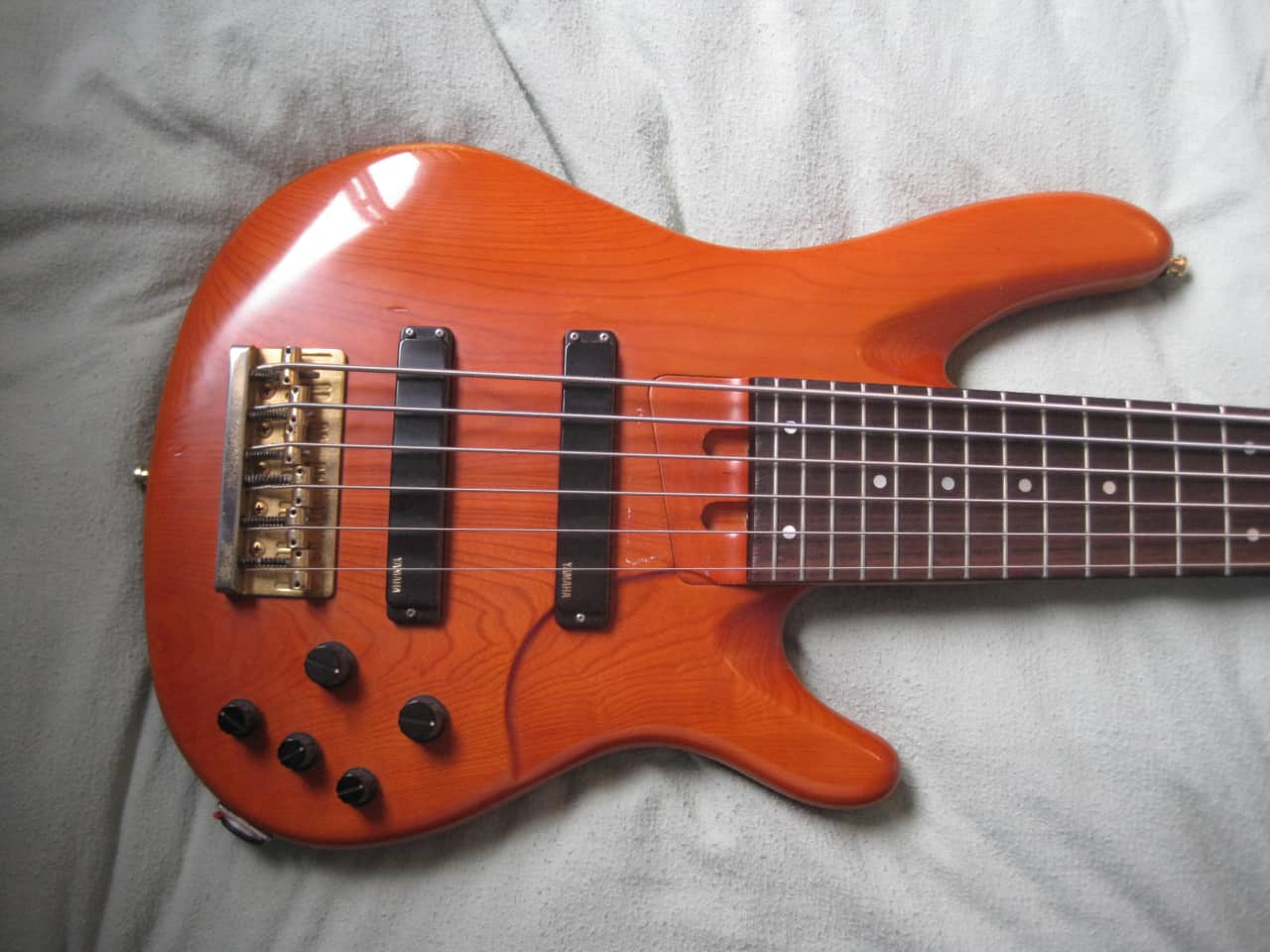 Yamaha trb 6 string bass reverb for Yamaha 6 string bass