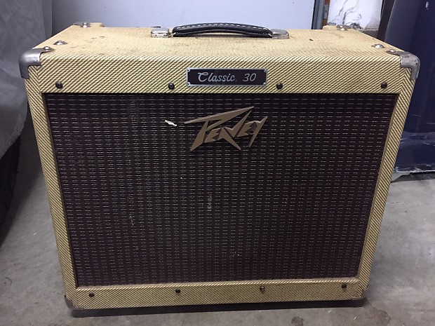 peavey classic 30 2003 tweed reverb. Black Bedroom Furniture Sets. Home Design Ideas