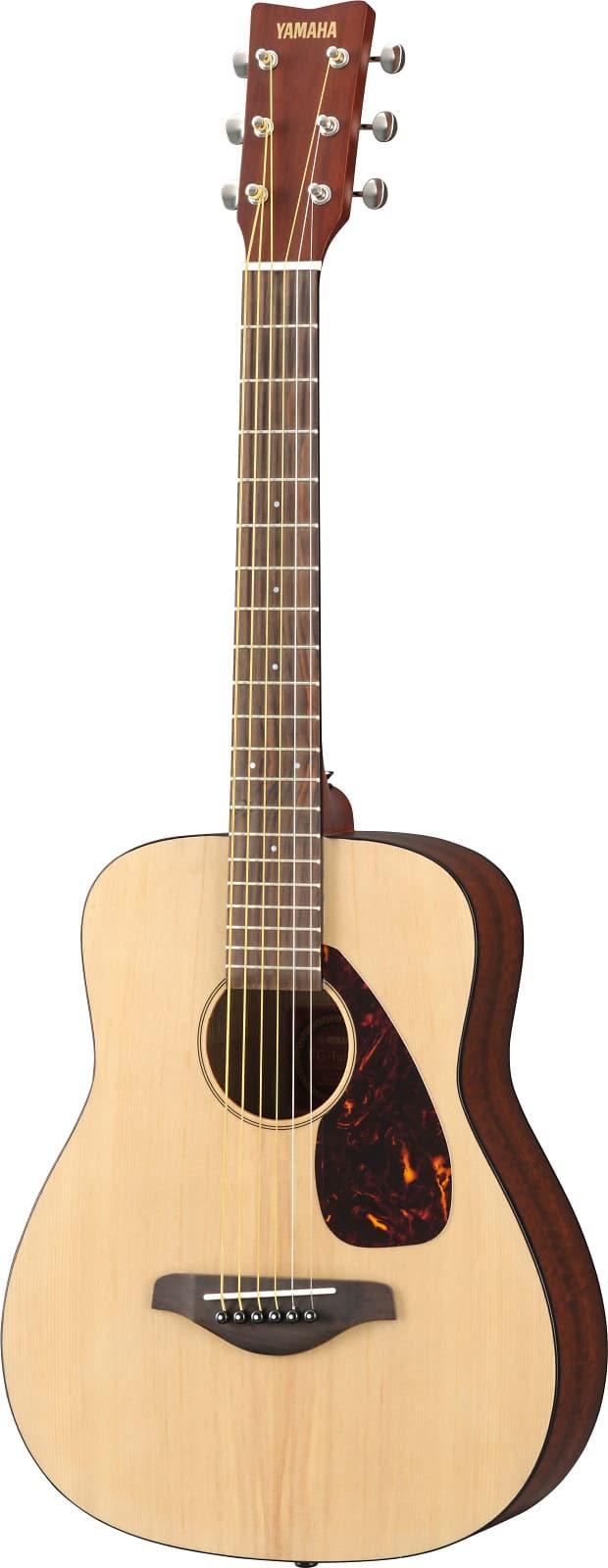 yamaha jr2 3 4 size acoustic guitar natural reverb