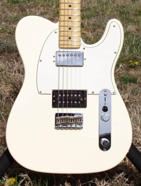 Simply American standard telecaster vintage white absolutely