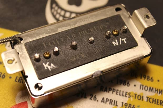 Lollar single coil for humbucker pickups
