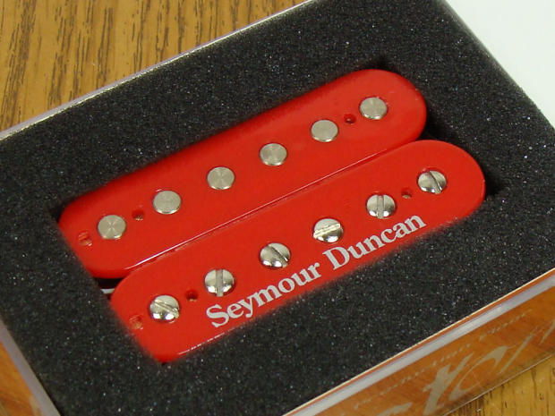 new usa seymour duncan sh 4 jb model humbucker pickup bridge guitar red custom reverb. Black Bedroom Furniture Sets. Home Design Ideas