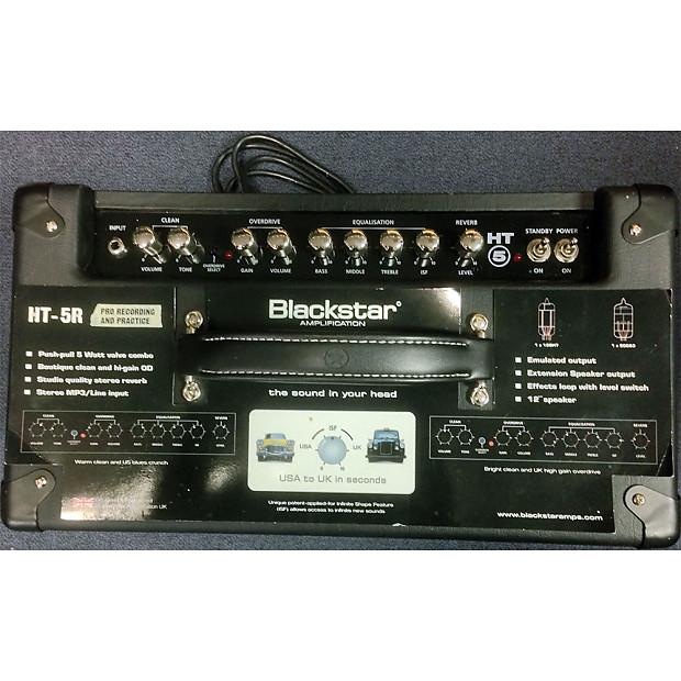 used blackstar ht 5r 5 watt combo tube amp reverb. Black Bedroom Furniture Sets. Home Design Ideas