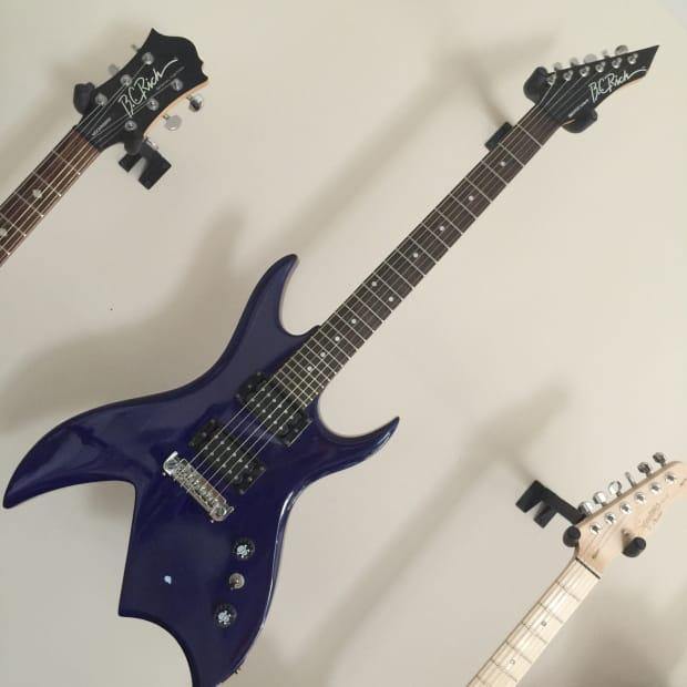 bc rich bich blue used electric guitar rich bitch reverb. Black Bedroom Furniture Sets. Home Design Ideas