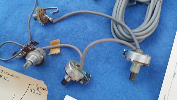 8 pin wiring harness connector pigtails 1960s nos dearmond pickup model 55-fb-12 - 8.2 ohm ... nos launcher 8 pin wire harness #7