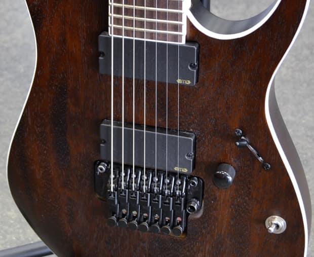 ibanez iron label rgir27be 7 string electric guitar flat reverb. Black Bedroom Furniture Sets. Home Design Ideas