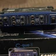 Samson C Que 8 - 4 Channel Headphone Amplifier
