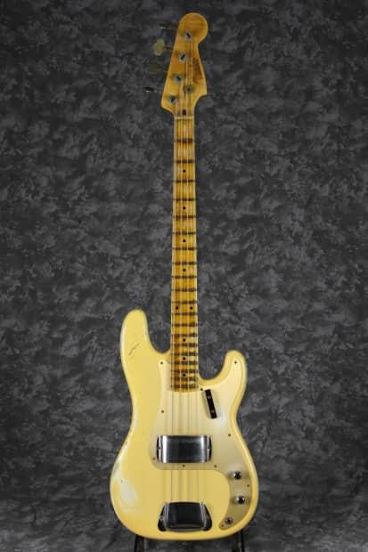 fender custom shop 1957 precision bass heavy relic nocaster reverb. Black Bedroom Furniture Sets. Home Design Ideas