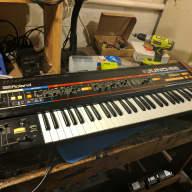 Roland Juno 60 with Juno-66 CPU/MIDI mod, recapped and serviced