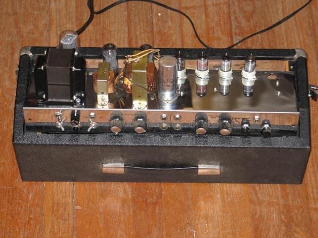 Alamo Electronics Galaxie 2571  U0026 39 60 U0026 39 S  1966  Head  U0026