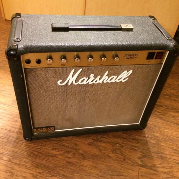 1986 Marshall Jcm 800 4010  50 Watt  2204 Circuit  1x12 Combo