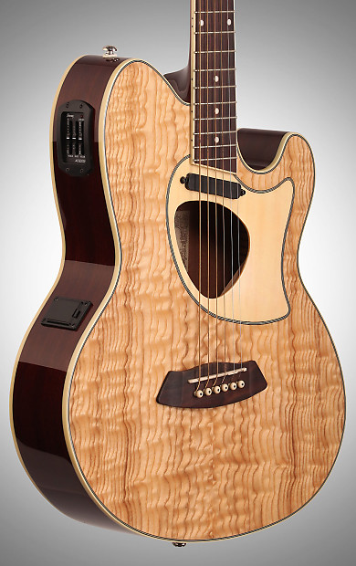 ibanez tcm50 talman cutaway acoustic electric guitar natural reverb. Black Bedroom Furniture Sets. Home Design Ideas