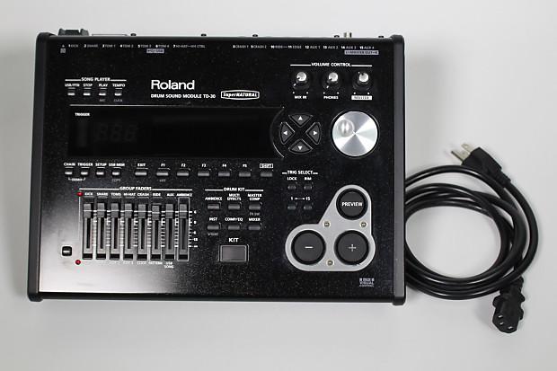 roland td 30 electronic v drums sound trigger module like reverb. Black Bedroom Furniture Sets. Home Design Ideas