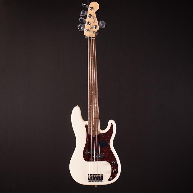 fender american standard precision bass 5 string olympic reverb. Black Bedroom Furniture Sets. Home Design Ideas