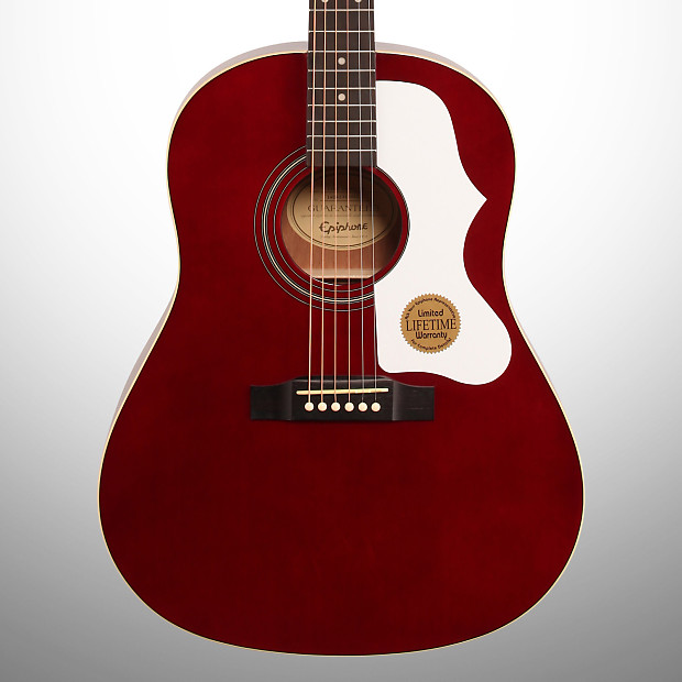 epiphone limited edition j45 acoustic guitar wine red reverb. Black Bedroom Furniture Sets. Home Design Ideas