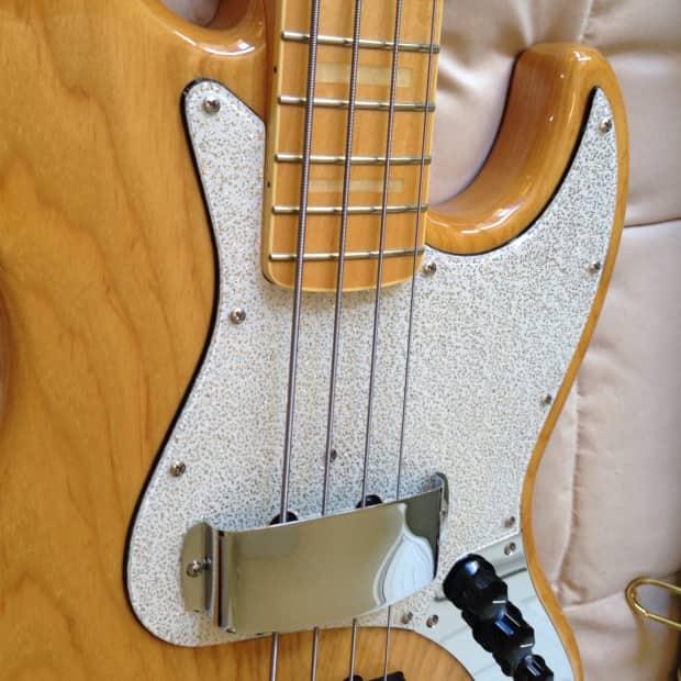 Fujigen Neo Classic Jazz Bass 2012 Natural Grain