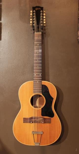 1965 gibson b25 12 12 string acoustic guitar reverb. Black Bedroom Furniture Sets. Home Design Ideas