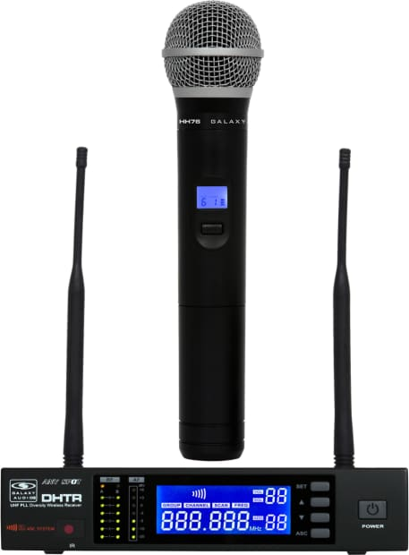 Galaxy Audio DHTR/HH76 DHT Series Wireless Dynamic ...
