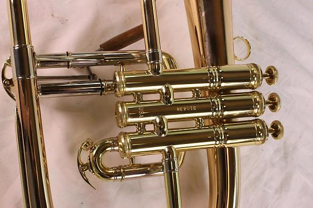 Conn Vintage One 1FR Bb Flugel Horn Lacquer - John