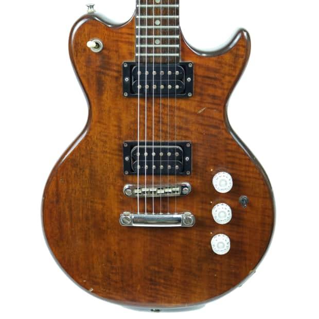 vintage 1970 s electra x260 invicta electric guitar walnut. Black Bedroom Furniture Sets. Home Design Ideas